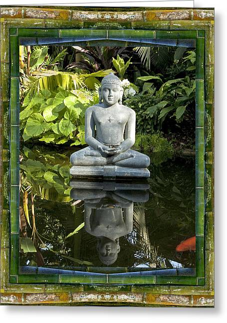 Peaceful Reflection Greeting Card by Bell And Todd