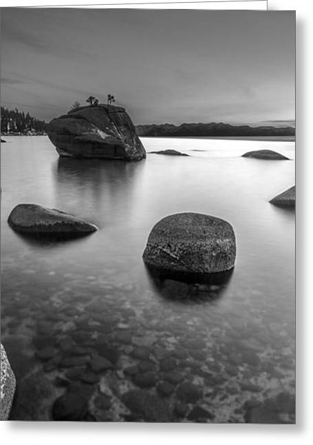 Peaceful Shores Greeting Card by Brad Scott