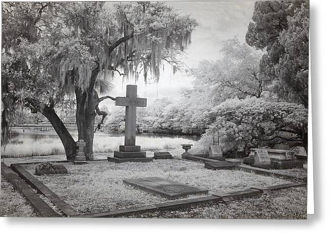 Grave Side Greeting Cards - Peacful Eternity Greeting Card by Cindy Archbell