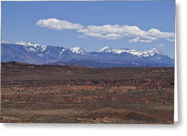 Slickrock Greeting Cards - Peaks and Valleys Greeting Card by Brian Kamprath
