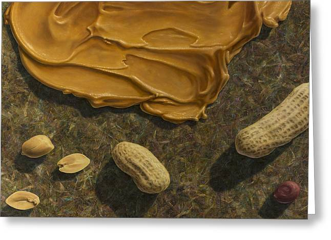 Peanut Butter And Peanuts Greeting Card by James W Johnson
