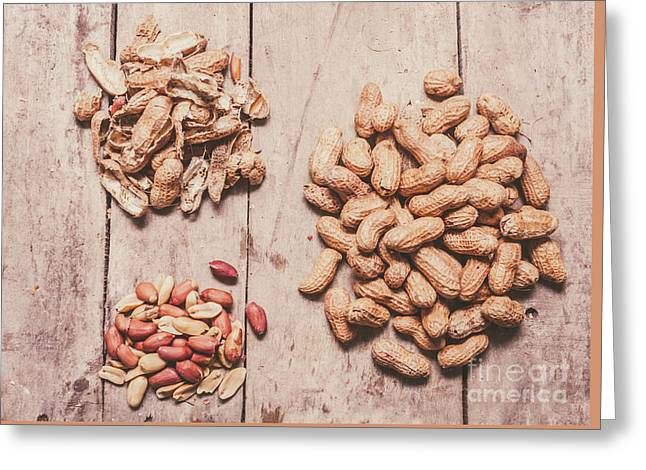 Peanut Shelling Greeting Card by Jorgo Photography - Wall Art Gallery