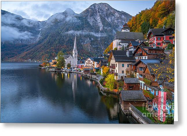 Pearl Of Austria Greeting Card by JR Photography