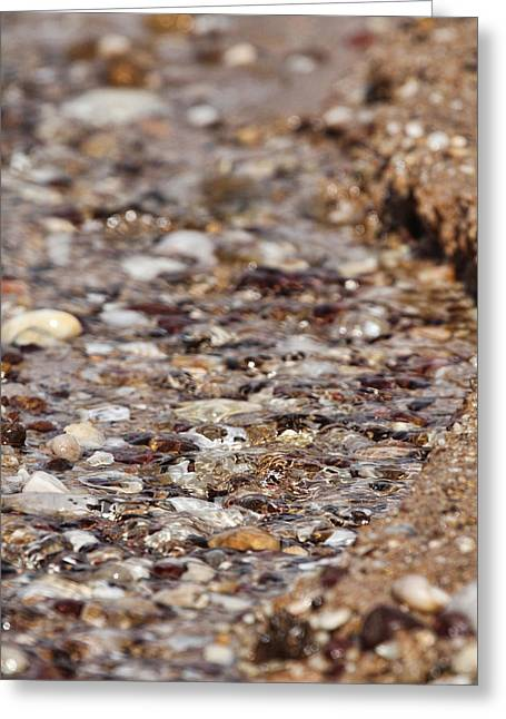 Pebbles Greeting Cards - Pebble Beach Greeting Card by Douglas Barnard