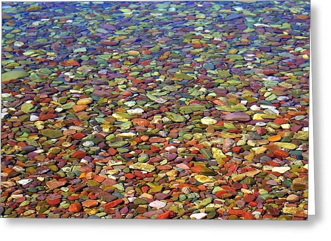 Pebbles Greeting Card by Marty Koch