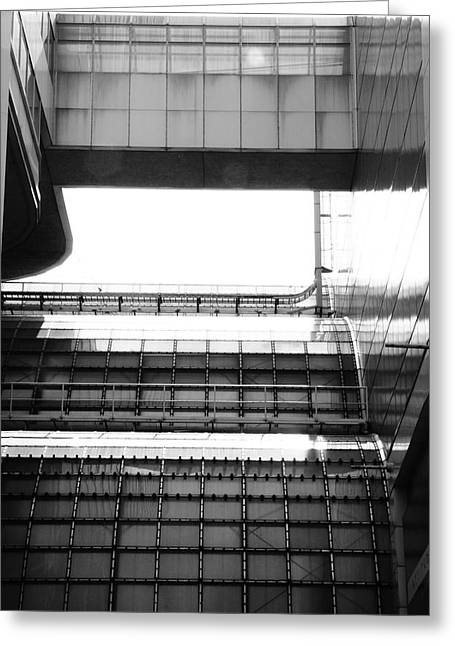 Light And Dark Greeting Cards - Pedway And Other Tubes Greeting Card by Kreddible Trout