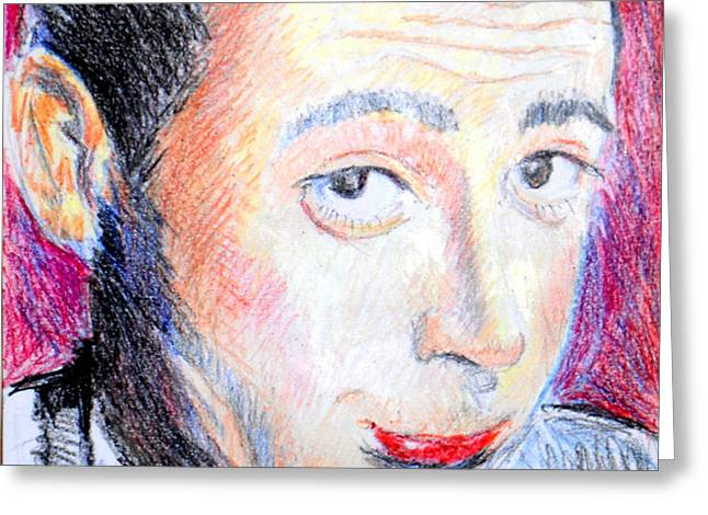 Pee Wee Herman  Greeting Card by Jon Baldwin  Art