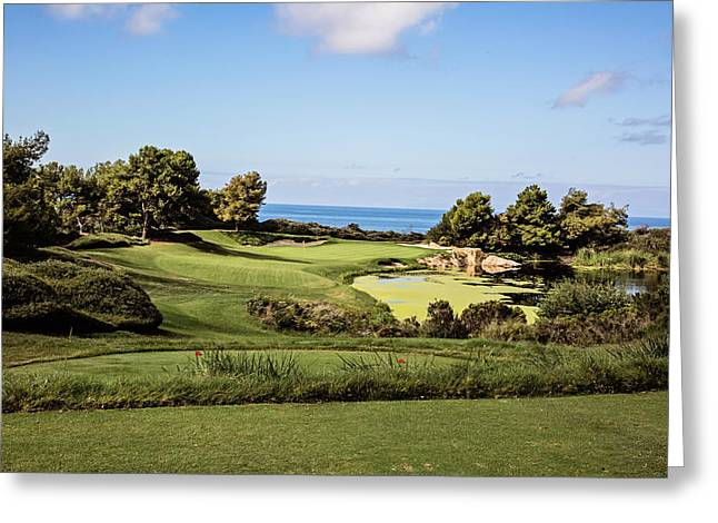 California Ocean Photography Greeting Cards - Pelican Hill No. 7 Greeting Card by Scott Pellegrin