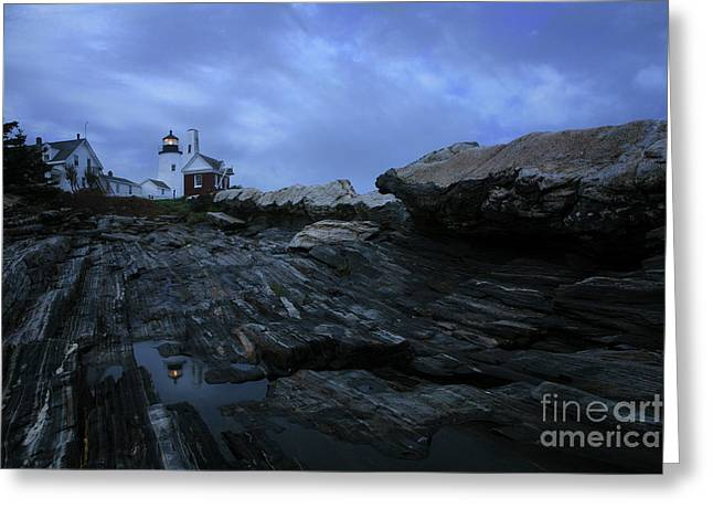 Pemaquid Lighthouse Greeting Cards - Pemaquid Greeting Card by Timothy Johnson