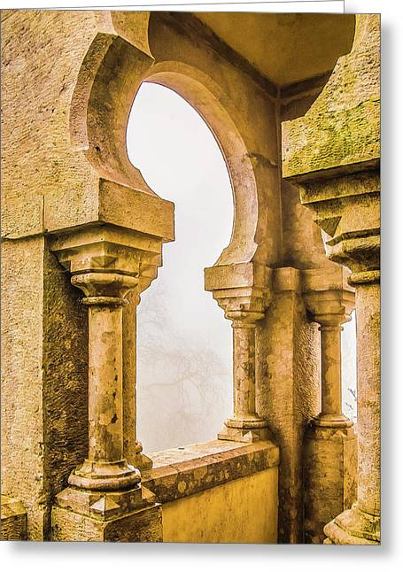 Pena Palace Sintra Greeting Card by Julie Palencia