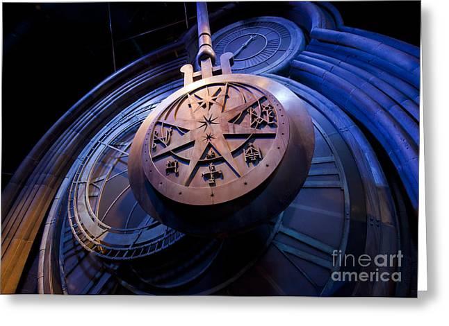 Pendulum Greeting Cards - Pendulum Greeting Card by Chris Dutton