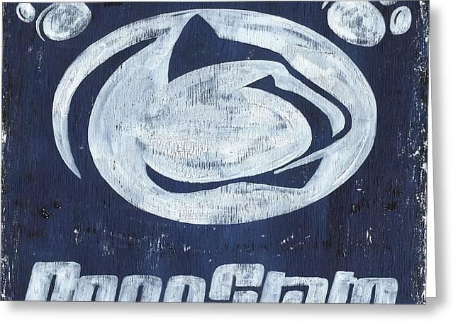 Penn State Greeting Card by Debbie DeWitt