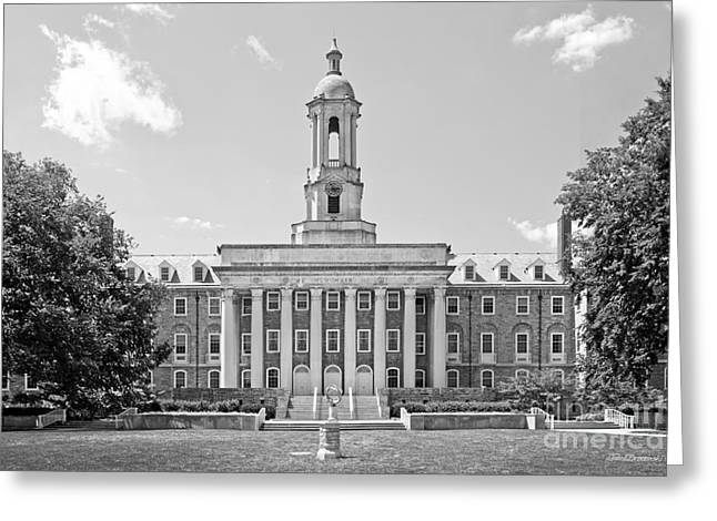 Penn State Greeting Cards - Penn State Old Main  Greeting Card by University Icons