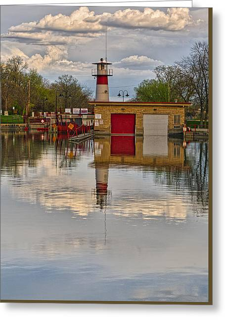 Tenney Lock 2 - Madison - Wisconsin Greeting Card by Steven Ralser