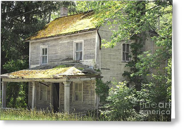 Print Photographs Greeting Cards - Pennsylvania Old Rustic House Greeting Card by Andrea Hazel Ihlefeld