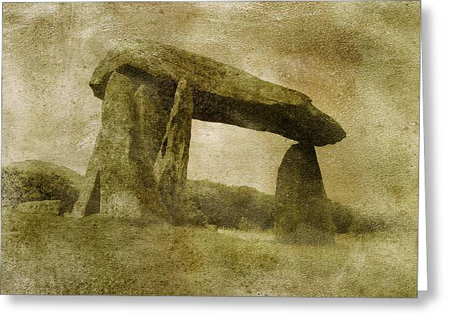 Pentre Ifan Greeting Card by The Rambler
