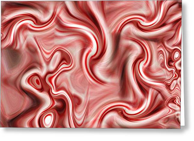 Distortion Greeting Cards - Peppermint 2 Greeting Card by Ron Bissett