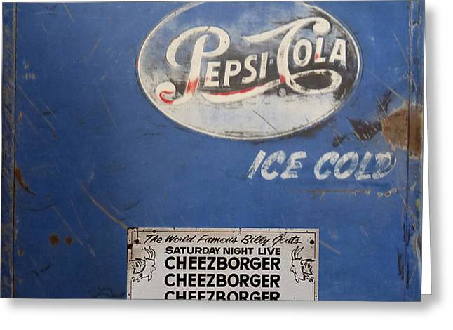 Pepsi Can Greeting Cards - Pepsi Cola 2 Greeting Card by To-Tam Gerwe
