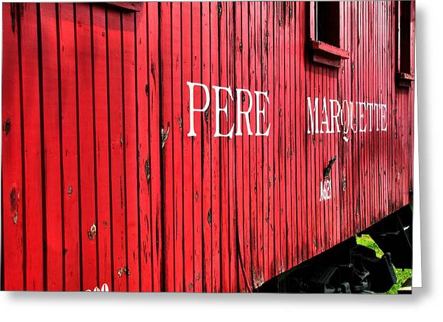 Pere Marquette Greeting Card by Scott Hovind