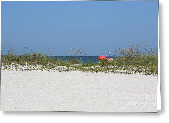 Blue Grapes Greeting Cards - Perfect Beach Day Greeting Card by Carol Groenen