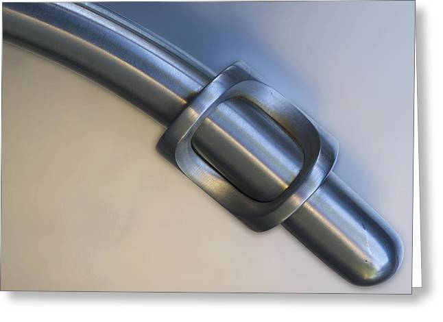 Chrome Handles Greeting Cards - Perfect Fit Greeting Card by Paul Wear