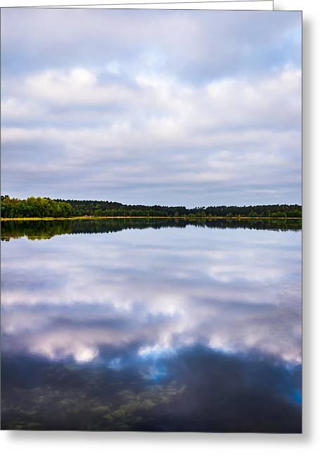Clean Water Greeting Cards - Perfect Reflections Greeting Card by Shelby  Young