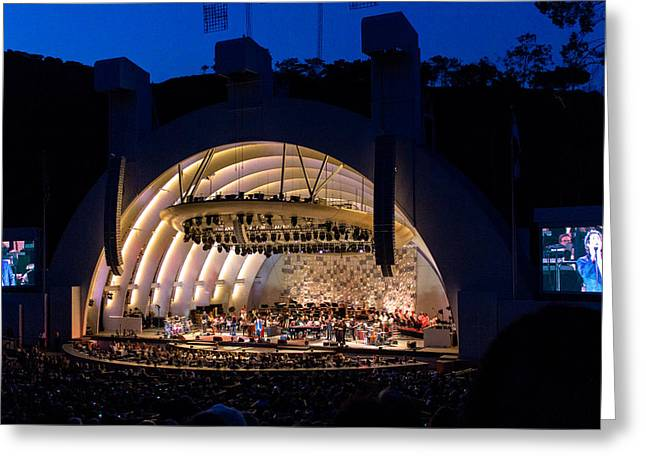 Hollywood Bowl Greeting Cards - Performance Greeting Card by Mitchell Christopher
