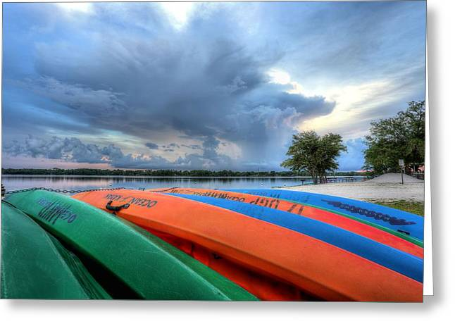 Florida Panhandle Greeting Cards - Perhaps Tomorrow Greeting Card by JC Findley