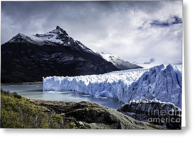 Santa Cruz Greeting Cards - Perito Moreno Glacier 3 Greeting Card by Timothy Hacker