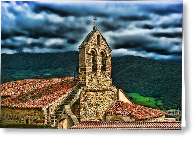 Mountain Valley Greeting Cards - Perrozo-155A00-46 Greeting Card by Diana Sainz