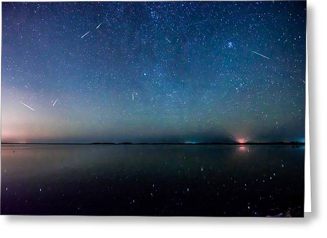 Constellations Greeting Cards - Perseids Greeting Card by Jeremy Clinard