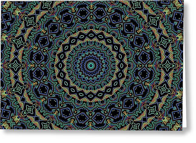 Persian Carpet Greeting Card by Joy McKenzie