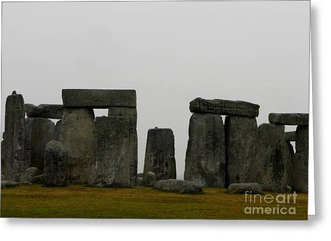 Mystifying Greeting Cards - Perspective Greeting Card by Priscilla Richardson