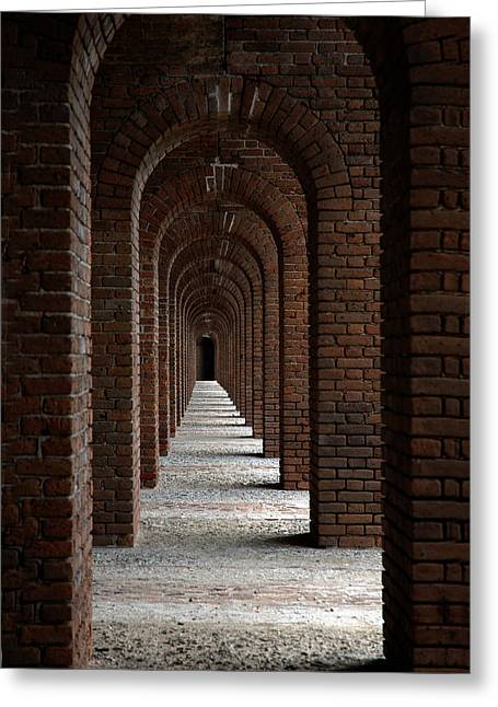 Architectur Greeting Cards - Perspectives Greeting Card by Susanne Van Hulst