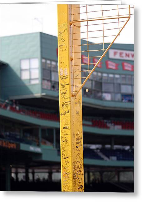 Pesky's Pole Greeting Card by Greg DeBeck