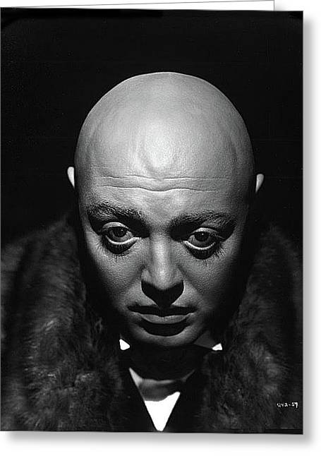 Peter Lorre Mad Love Publicity Photo By Clarence Sinclair Bull 1935 Greeting Card by David Lee Guss