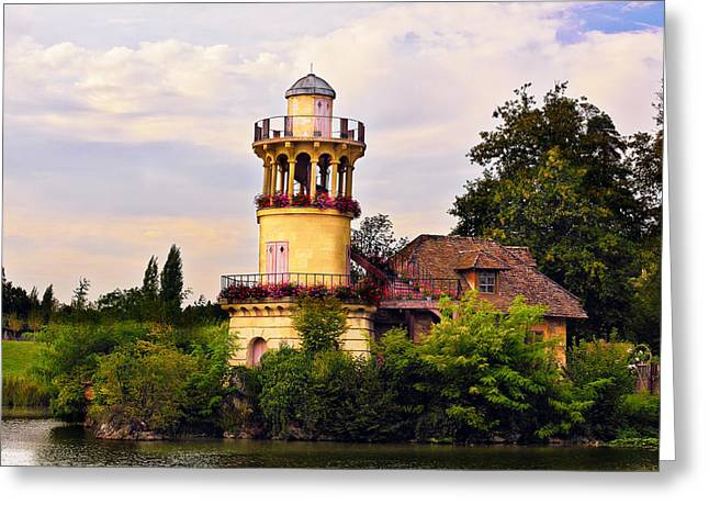 Trianon Greeting Cards - Marlborough Tower Greeting Card by Hsin Liu