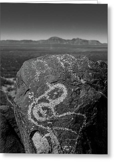 Petroglyphs IIi Greeting Card by Joseph Smith