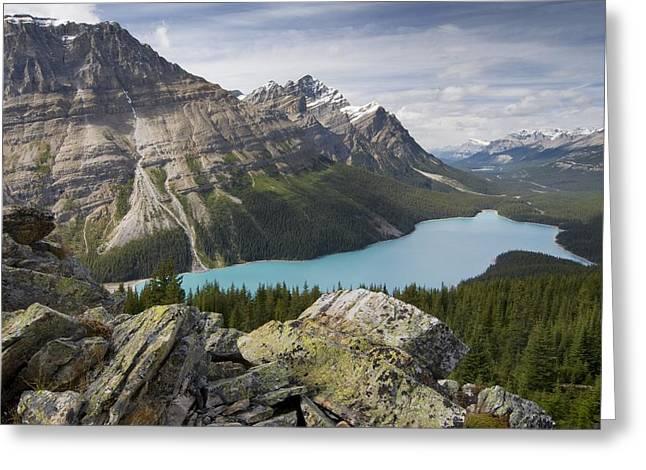Lake Louise Photography Greeting Cards - Peyto Lake Lake Louise, Alberta, Canada Greeting Card by Philippe Widling