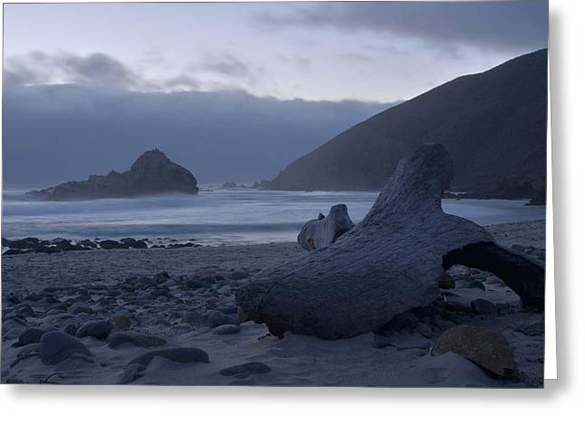 Pfeiffer Beach - Big Sur Greeting Card by Stephen  Vecchiotti