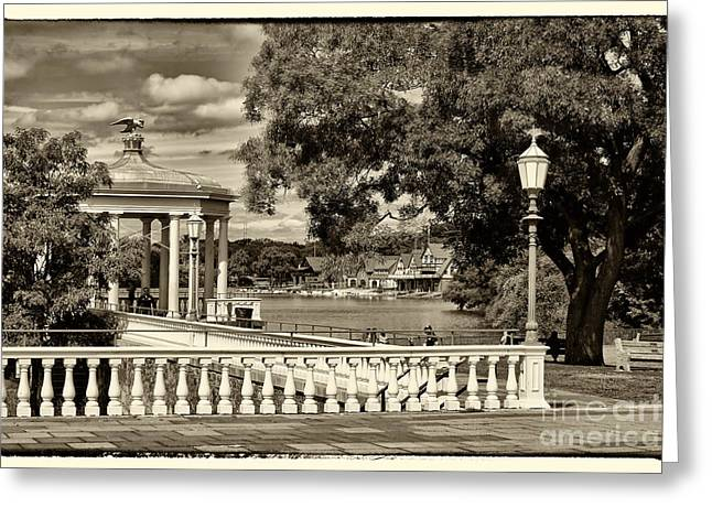 Philadelphia Art Museum Greeting Cards - Philadelphia Art Museum 7 Greeting Card by Jack Paolini