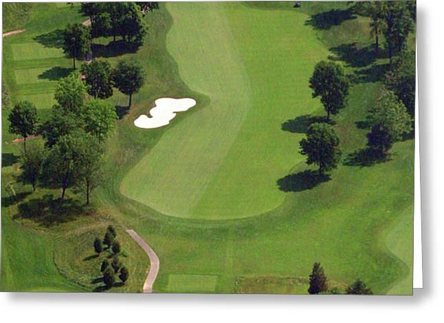 Philadelphia Cricket Club Militia Hill Golf Course 16th Hole 2 Greeting Card by Duncan Pearson