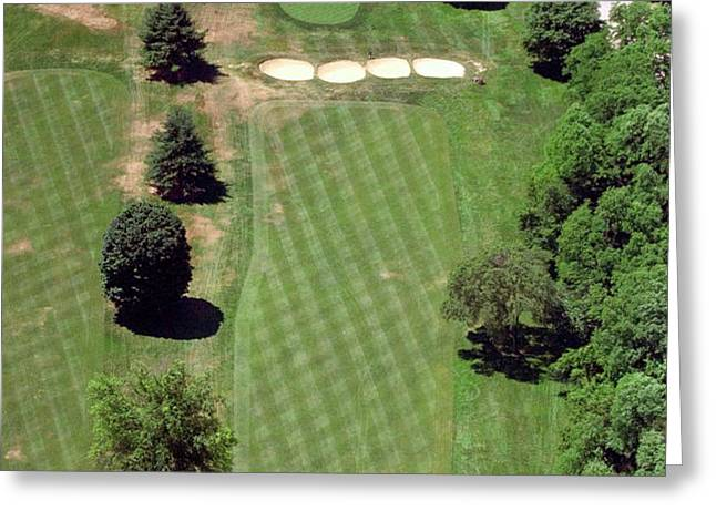 Philadelphia Cricket Club St Martins Golf Course 3rd Hole 415 West Willow Grove Ave Phila PA 19118 Greeting Card by Duncan Pearson