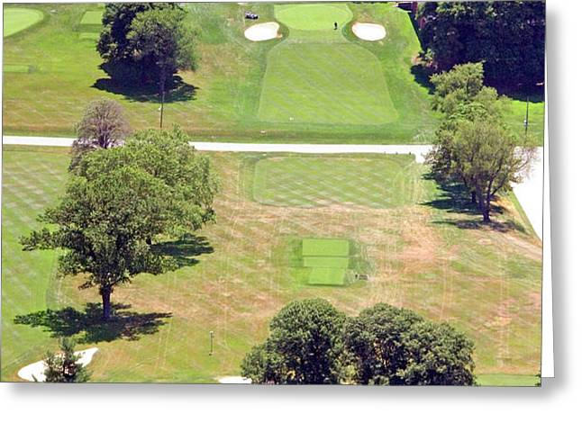 Philadelphia Cricket Club St Martins Golf Course 9th Hole 415 W Willow Grove Ave Phila PA 19118 Greeting Card by Duncan Pearson