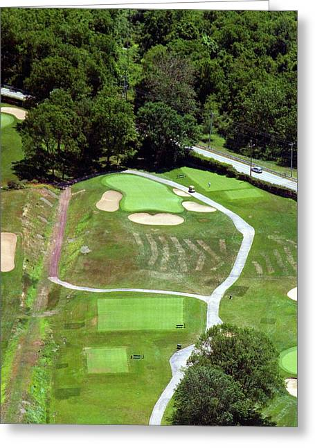 Philadelphia Cricket Club Wissahickon Golf Course 3rd Hole Greeting Card by Duncan Pearson