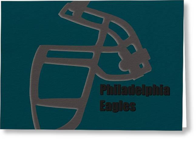 Philadelphia Eagles Greeting Cards - Philadelphia Eagles Retro Greeting Card by Joe Hamilton