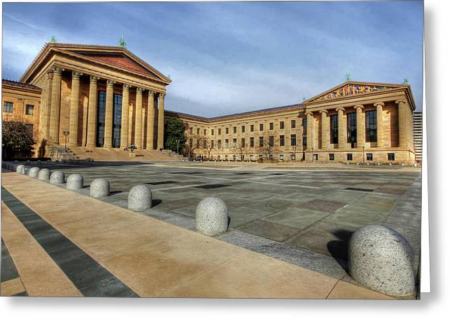 Philadelphia Museum Of Art Greeting Cards - Philadelphia Museum of Art Greeting Card by Lori Deiter
