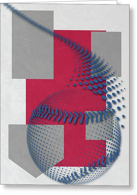 Philadephia Phillies Art Greeting Card by Joe Hamilton