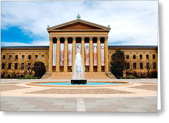Independance Hall Greeting Cards - Philly Art Greeting Card by Greg Fortier