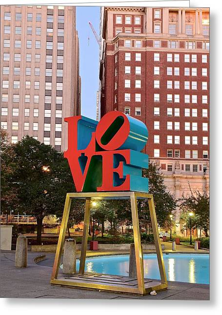 Philly Love Greeting Card by Skyline Photos of America